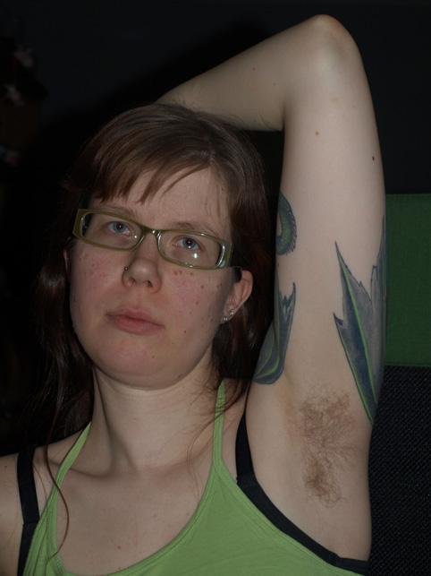 hår under armarna