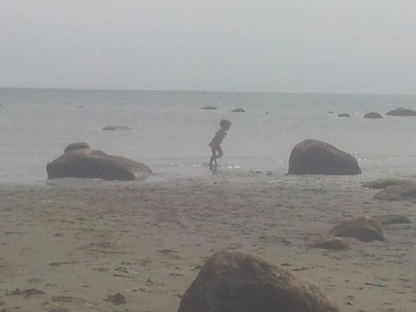 Barn i hav