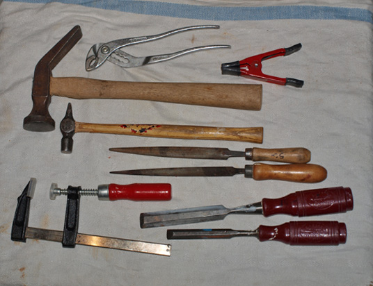 Silververktyg
