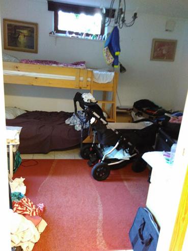 Vandrarhemsrummet